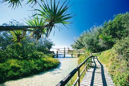 Fraser Island beautiful scenery
