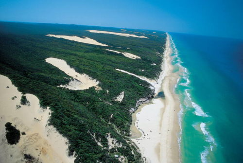 whole area of Fraser Island