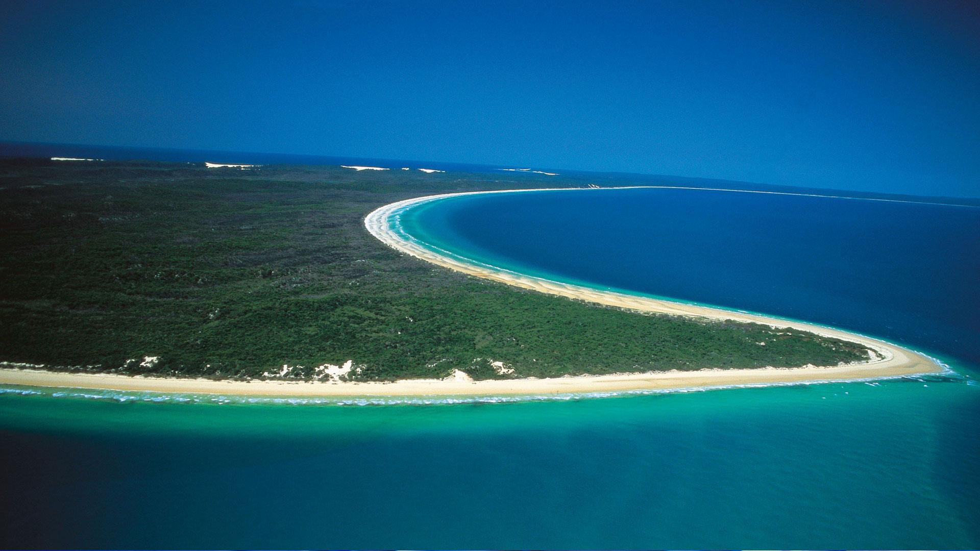 Fraser Island Birds Eye View