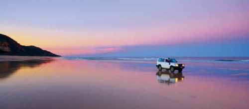 Fraser Island best sunset