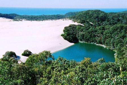 Fraser Island best scenery