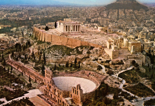 athens the historical places