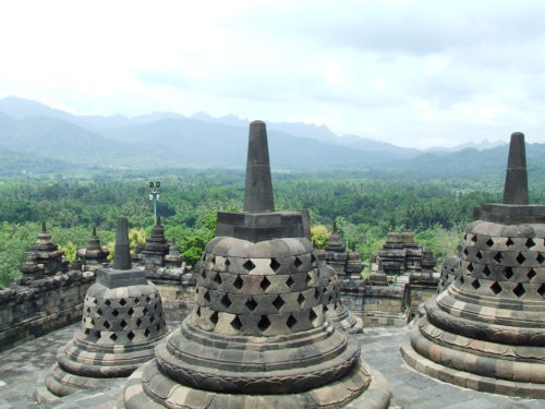 borobudur the beauty of indonesia
