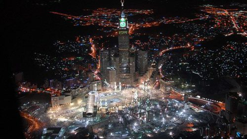 Makah beauty in night