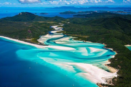whitesunday island australia