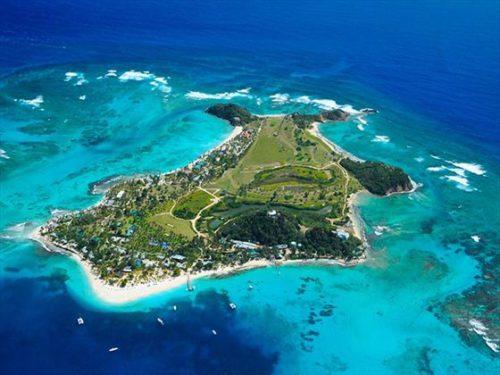 whole area of Barbados Island