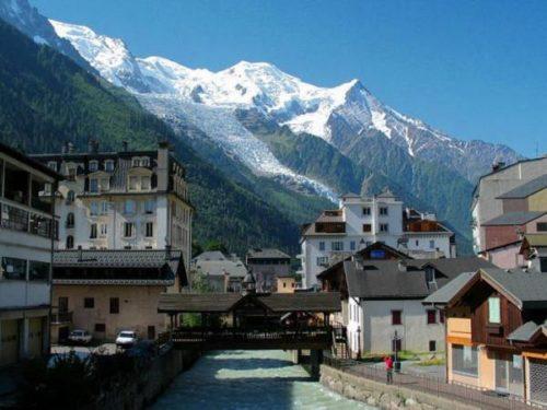 Chamonix Mont Blanc inside
