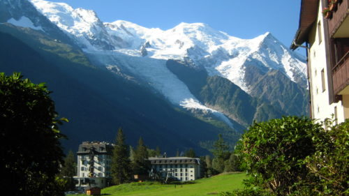 Chamonix Mont Blanc world best destination