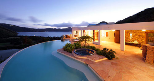 best resort to stay at guana island