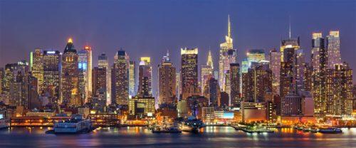 new york beauty at night