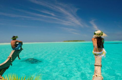 Aitutaki full of enjoyment