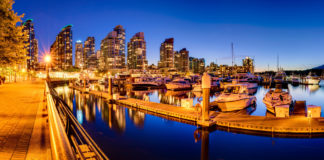 Vancouver awesome harbour