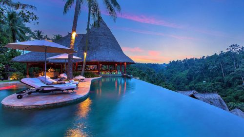 Bali romantic atmosphere
