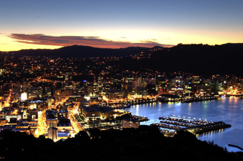Wellington spectacular Night