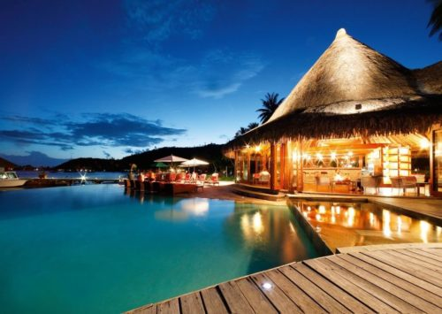 Bora Bora best night scenery