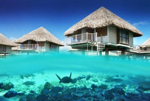 Bora Bora inside beauty