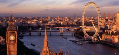 London best evening time in London