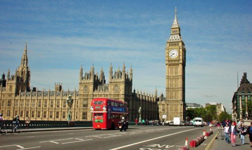 London the old place