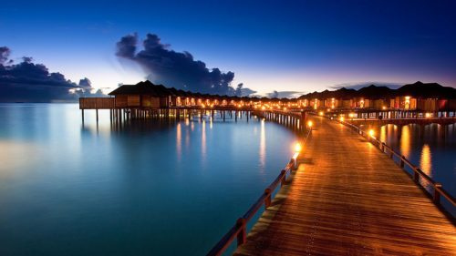 Maldives best night scenery