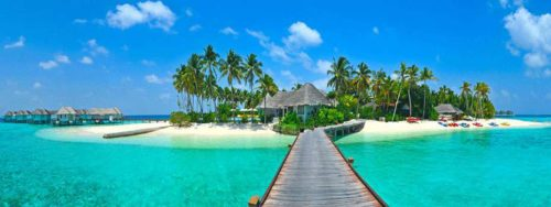 Maldives natural beauty