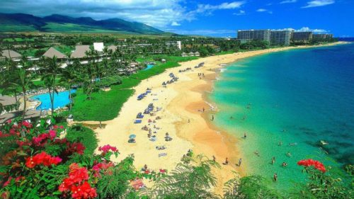 Maui one of romantic place