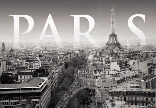 Paris retro photo shoot