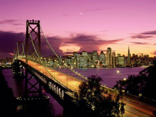 San Francisco famous bridge