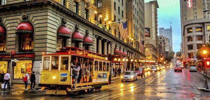 San Francisco the downtown