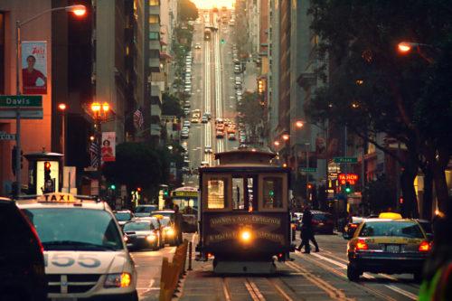 San Francisco alive city
