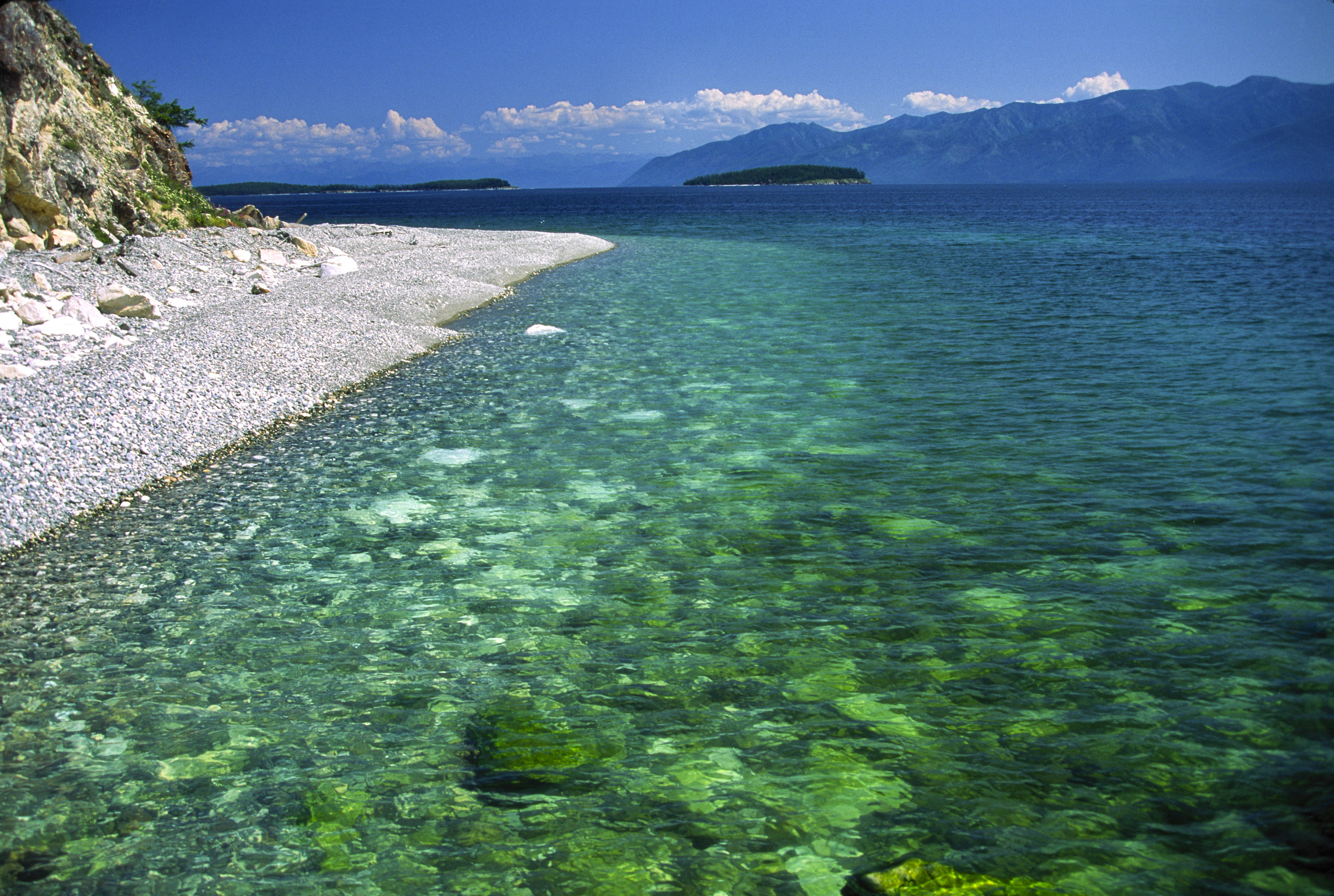 The largest lake in Russia - the Caspian Sea 95