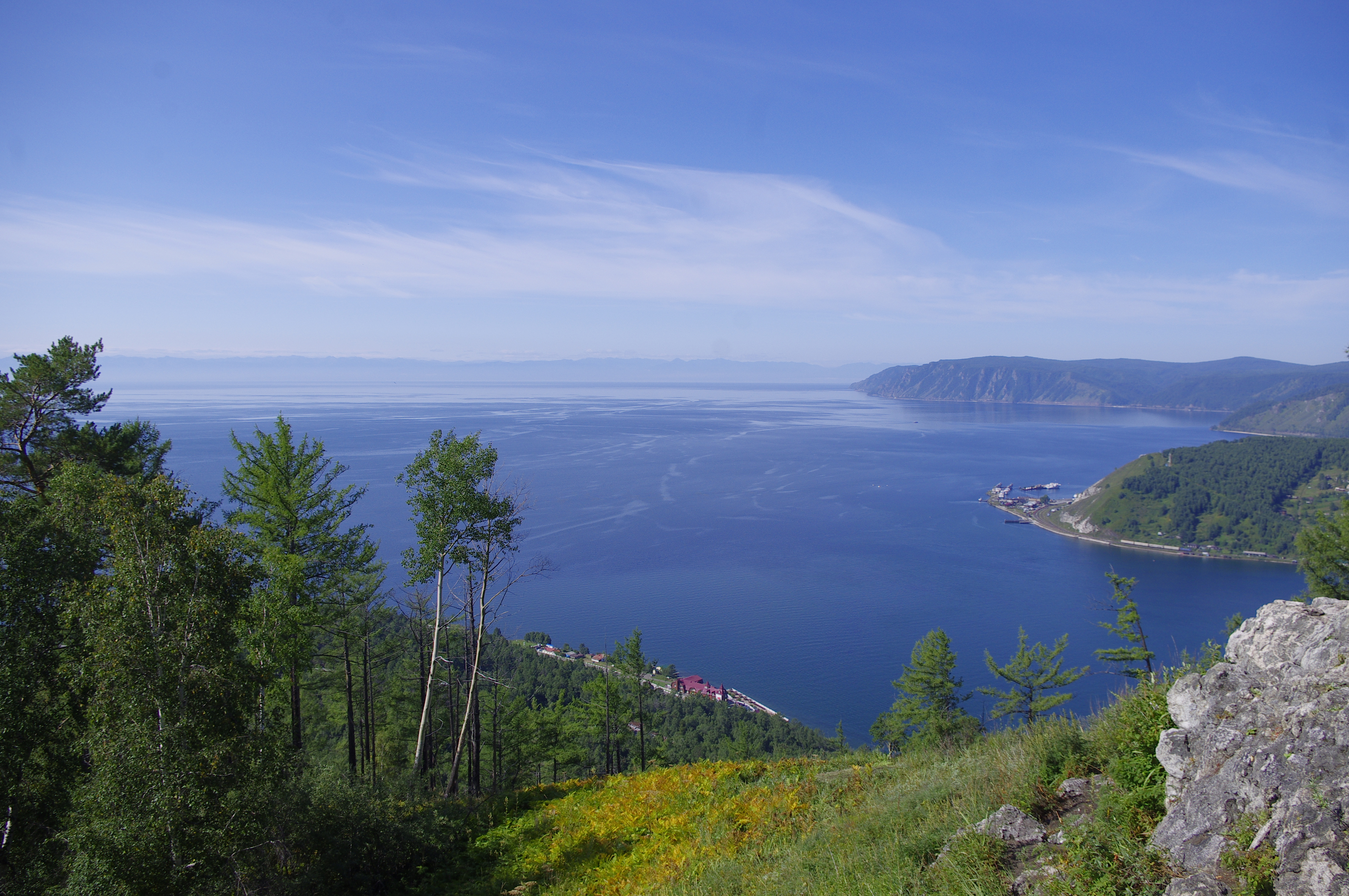 Impressive Lake Baikal Russian Gets Ready