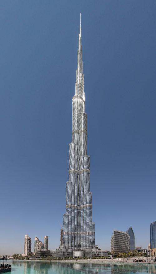 Burj Khalifa the highest point
