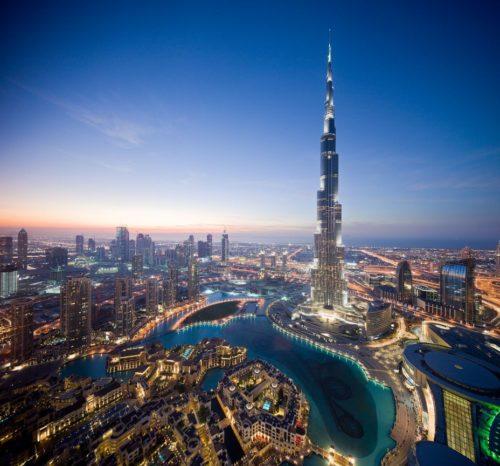 the beauty of Burj Khalifa