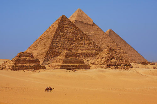 Egyptian Pyramids scenery