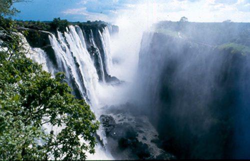 Victoria Falls best scenery