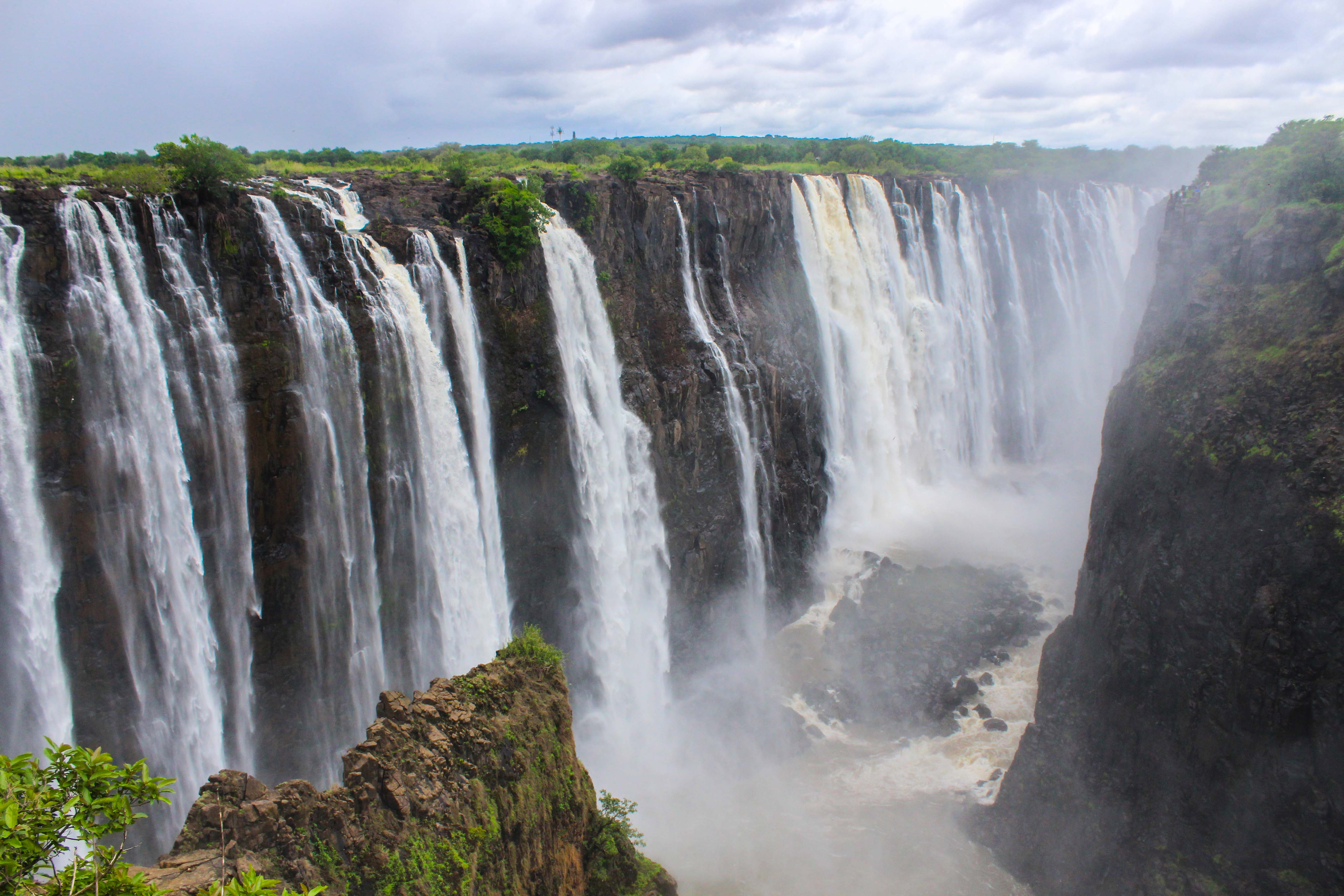 Victoria Falls World 39 S Largest Waterfall Gets Ready