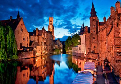 wonderful scenery of Bruges
