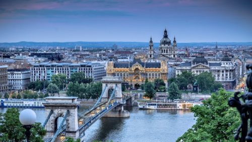 the greatest scenery of Budapest
