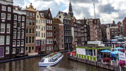 unique transportation at amsterdam