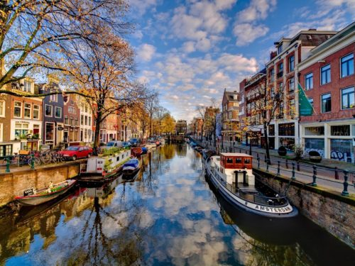 the beauty of amsterdam city