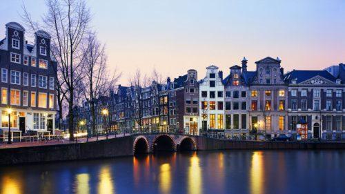 wonderful lighting at amsterdam