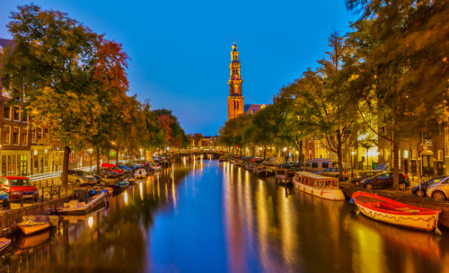 amsterdam best honeymoon destination
