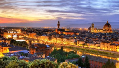 florence one of most romantic destination