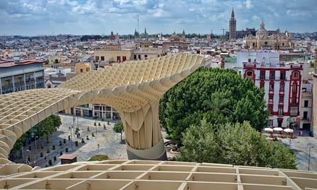 unique building at seville