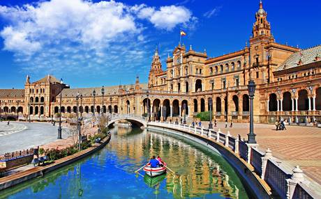 best lake at seville