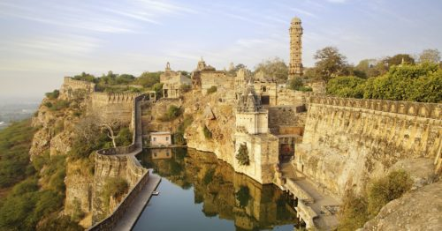 Chittorgarh fort best places in india