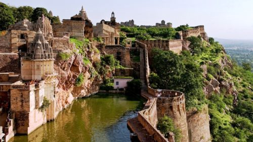 Chittorgarh fort India Heritage