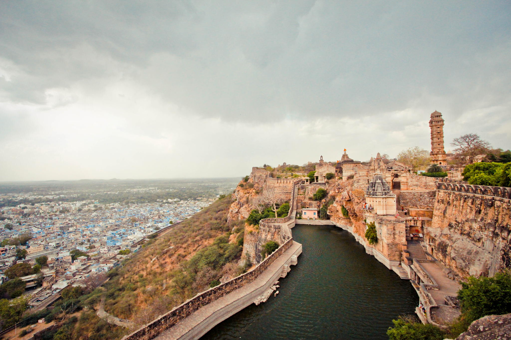 Chittorgarh Fort Biggest Fortress India - Gets Ready