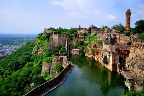 Chittorgarh fort the biggest rajashtan state