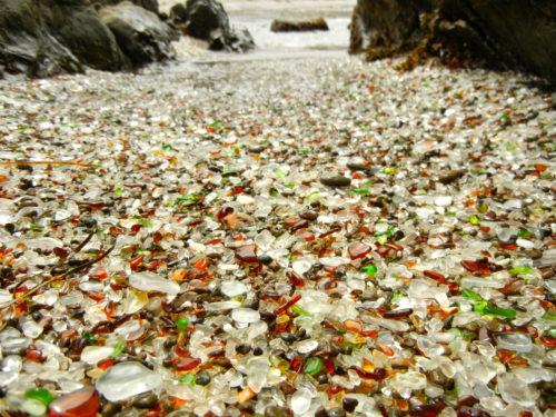 Glass Beach california beauty